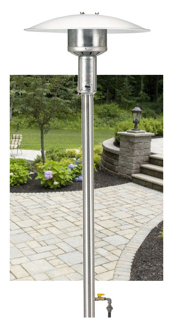 Patio Gas Heaters | Outdoor Natural Gas Heaters
