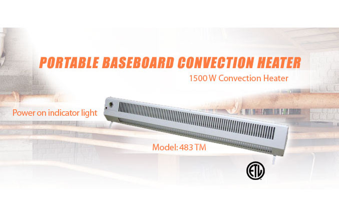 Commercial Heaters :: Portable Heaters :: Portable Baseboard