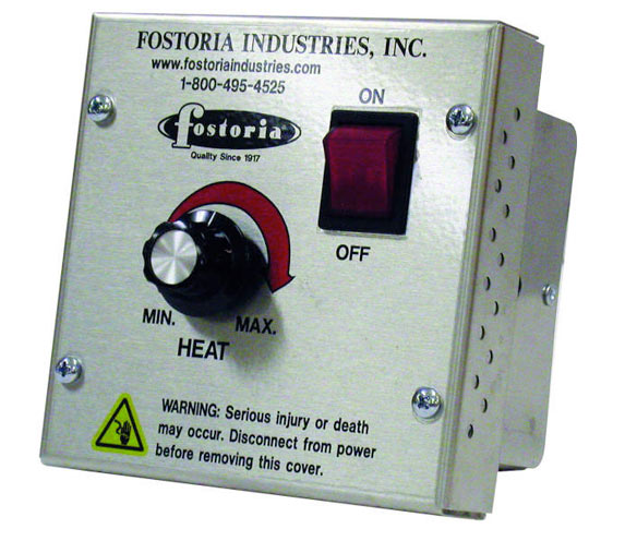 Electric Infrared Heater Variable Heat Controller | Parts and