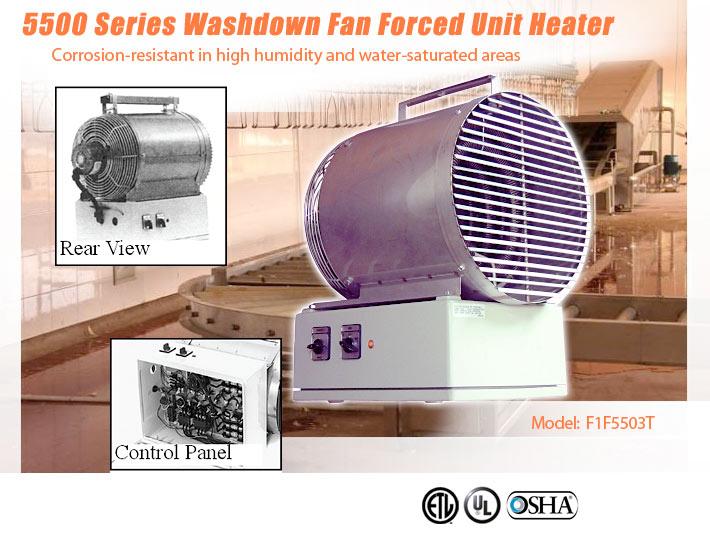 Industrial Fan Heaters Washdown Heaters Commercialheater