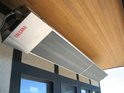 Calcana Infrared Patio Heating Systems. View Detailed Images (9)