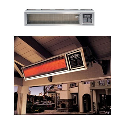Great Del Ray DCS 58,000BTU Hanging Patio Heater. View Detailed Images (2)