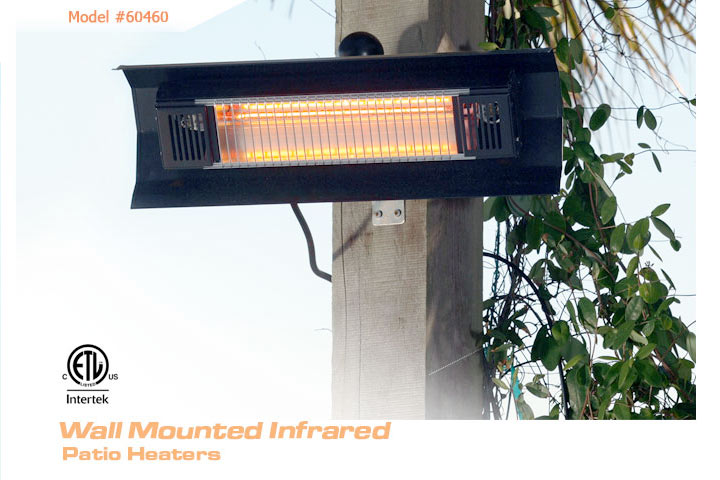 Incroyable Wall Mounted Infrared FireSense Patio Heater. View Detailed Images (2)
