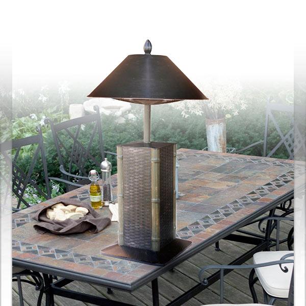 Sumatra Portable Table Top 4,000 + BTU Electric Patio Heater