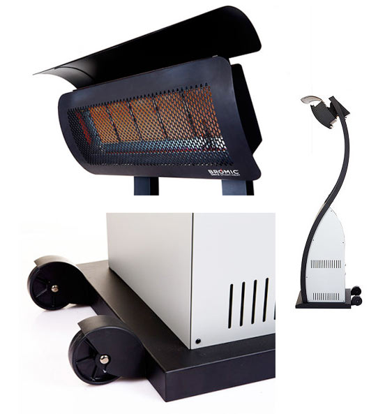 Smart Heat Tungsten Portable Propane Heater By Bromic