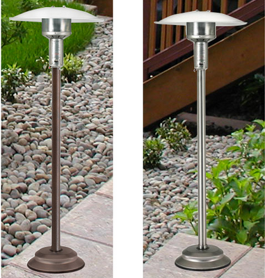 Natural Gas Infrared Heaters | Antique Bronze Patio Heater
