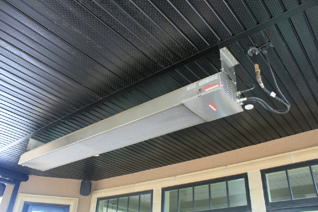 Natural Gas Ceiling Heater