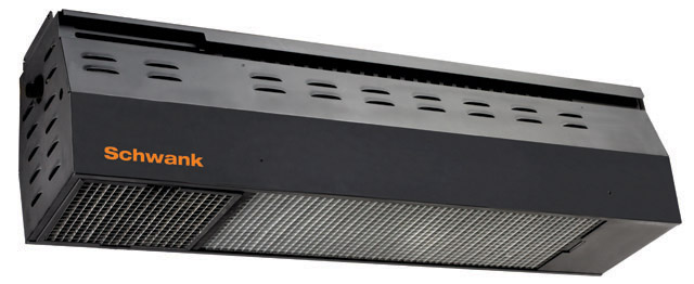 The Schwank 2100 Series Outdoor Patio Heaters Overhead