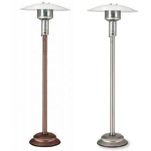 Patio Comfort Infrared Outdoor Heater In Antique Bronze Or Stainless Steel
