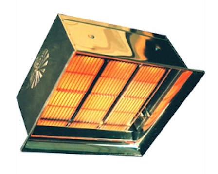 High - Intensity Detroit Radiant Commercial Space Heaters