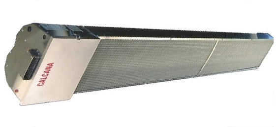 calcana infrared commercial heating systems the a series - Wall Mount Heater