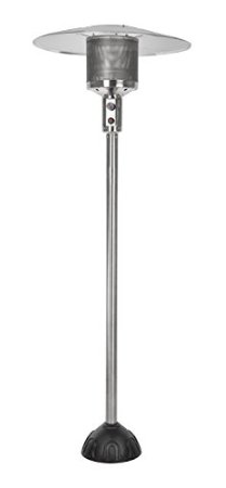 Fire Sense Natural Gas Stainless Steel Patio Heater