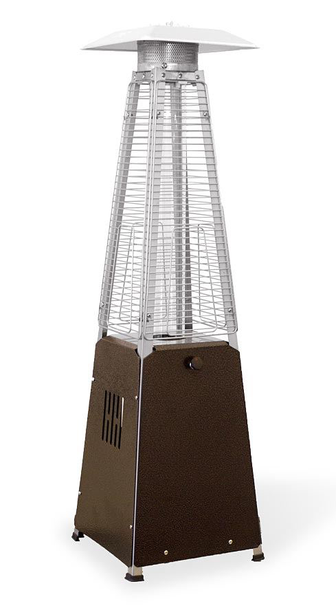 Patio Glass Tube Tabletop Heater
