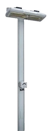 Post for Solaira Alpha High Output Quartz Radiant Infrared Heaters