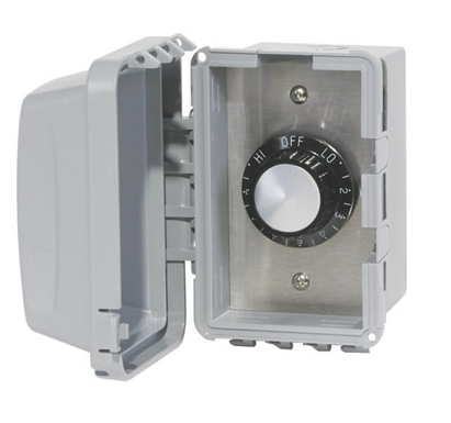 Surface Mount/Outdoor Heat Controls for W-Series Comfort Heaters Single and Double