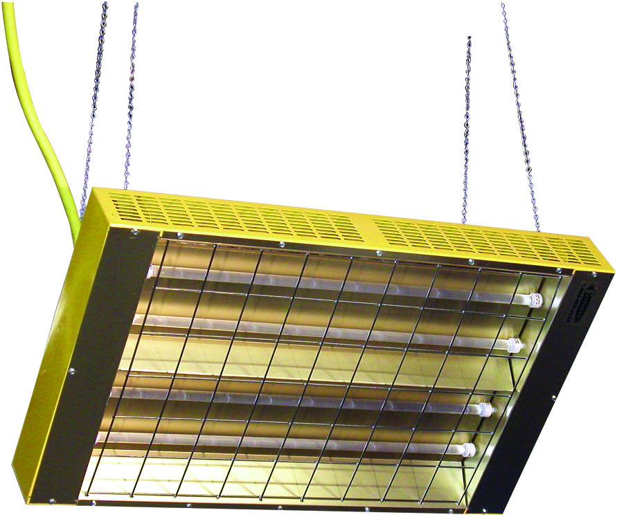 Suspended or Portable Quartz Infrared Heaters - CH