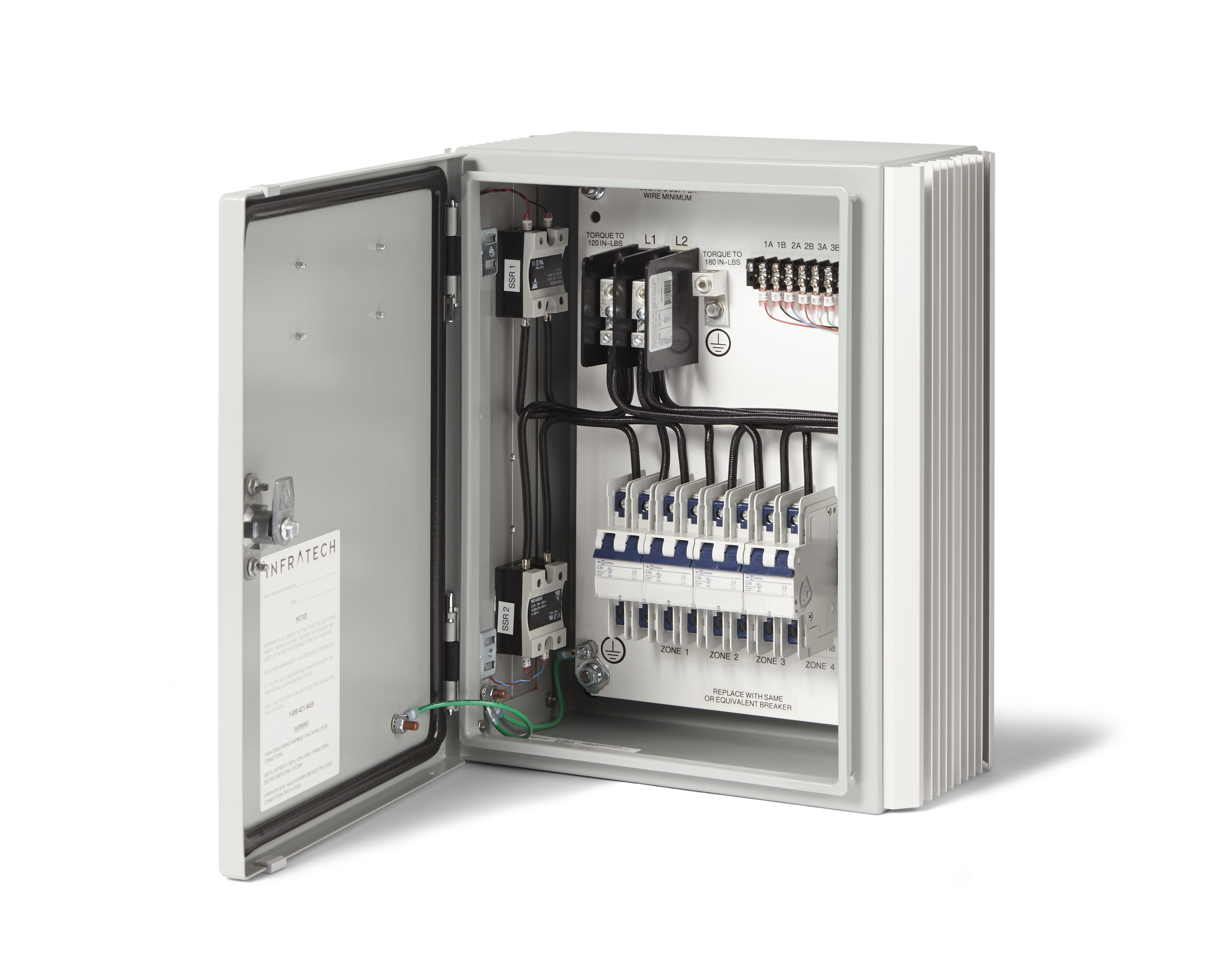 Main Control Boxes for Infratech | Parts and Accessories
