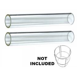 Quartz Glass Tube Replacement (2 Piece)