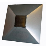 Commercial Square Reflector Shield 34""