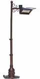 "Hammer Tone ""Scroll, Tradition & Mission"" design Pole Mounted Firesense Infrared Heaters"