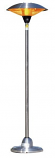 Freestanding Stainless Steel, Copper or Bronze Firesense Floor Standing Round Infrared Patio Heater
