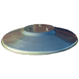 Commercial Round Reflector Shield 36""