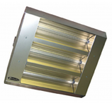 3 Lamp MUL-T Mount Infrared Series Stainless Steel Heater