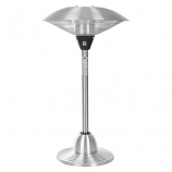 FireSense ELECTRIC Stainless Steel Table Top Round Infrared Patio Heater