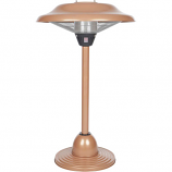 FireSense ELECTRIC Copper Table Top Round Infrared Patio Heater