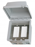 Infratech Duplex Switch - Single/Dual Gang SURFACE MOUNT With Weather Cover Single or Double